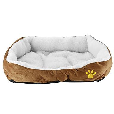 Gato Cachorro Camas Animais de Estimação Capachos e Alcochoadas Sólido Macio Casual Laranja Amarelo Café Rosa Azul Para animais de