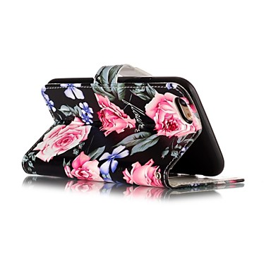 X iPhone iPhone credito Per Plus sintetica di Apple Fiore Con supporto iPhone pelle Resistente A Porta Integrale iPhone carte portafoglio Custodia X per iPhone decorativo 06378016 8 8 8 PBgqdWIx
