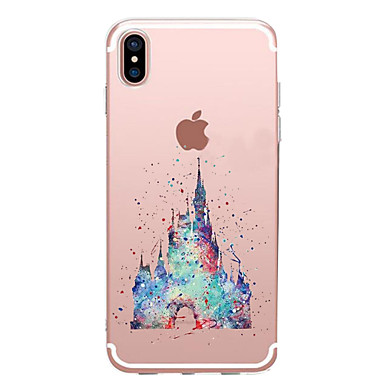 Case For Apple iPhone X / iPhone 8 Transparent / Pattern Back Cover Cartoon Soft TPU for iPhone XS / iPhone XR / iPhone XS Max