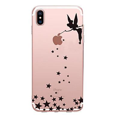 voordelige iPhone 6 hoesjes-hoesje Voor Apple iPhone XS / iPhone XR / iPhone XS Max Ultradun / Patroon Achterkant Sexy dame Zacht TPU