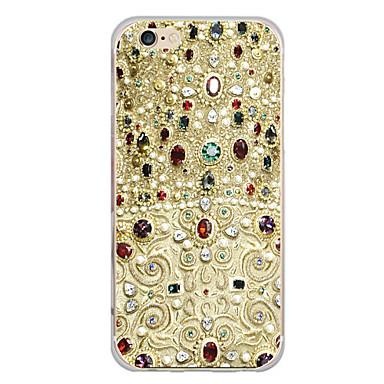 voordelige iPhone 7 hoesjes-hoesje Voor Apple iPhone X / iPhone 8 Plus / iPhone 8 Patroon Achterkant Cartoon / Anker Zacht TPU