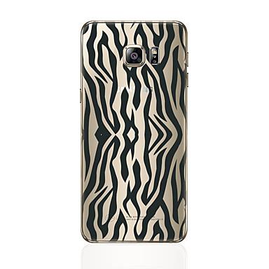 Недорогие Чехлы и кейсы для Galaxy S6 Edge-Кейс для Назначение SSamsung Galaxy S8 Plus / S8 / S7 edge С узором Кейс на заднюю панель Полосы / волосы Мягкий ТПУ