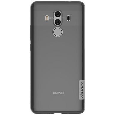 voordelige Huawei Mate hoesjes / covers-hoesje Voor Huawei Mate 10 / Mate 10 pro / Mate 10 lite Ultradun / Transparant Achterkant Effen Zacht TPU