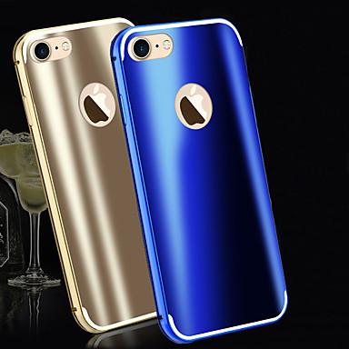 Pentru Anti Șoc Maska Carcasă Spate Maska Culoare solida Greu Metal pentru AppleiPhone 7 Plus / iPhone 7 / iPhone 6s Plus/6 Plus / iPhone