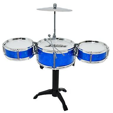 Drum Set Toy Musical Instrument Round Drum Set Jazz Drum Girls' Boys'