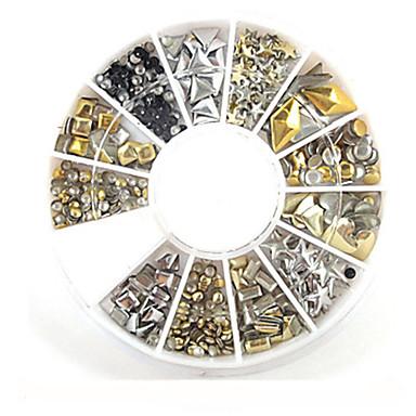 1 pcs Biżuteria do paznokci Metaliczny / Modny Codzienny Nail Art Design