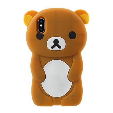 levne Pouzdra na iPhone 5c-Carcasă Pro Apple iPhone X / iPhone 8 Plus Vzor Zadní kryt Komiks Měkké Silikon pro iPhone X / iPhone 8 Plus / iPhone 8