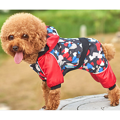 Dog Jumpsuit Dog Clothes Casual/Daily Heart Black Costume For Pets