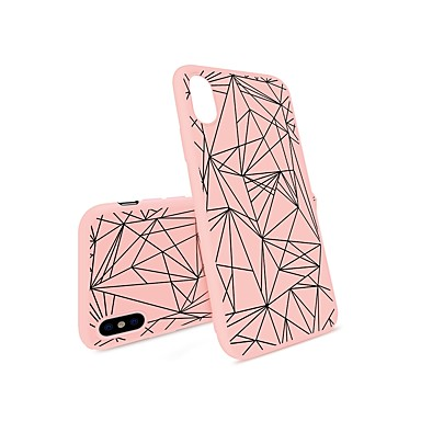 Per Morbido Per iPhone 8 Plus 06460760 iPhone 8 Apple Plus iPhone TPU Custodia retro iPhone iPhone per 7 iPhone Geometrica X disegno X Fantasia 8 zw74wxB