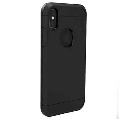 Kompatibilitás iPhone X iPhone 8 iPhone 5 tok tokok Ütésálló Hátlap Case Páncél Kemény PC mert Apple iPhone X iPhone 8 Plus iPhone 8