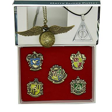 Часы Значки Вдохновлен MAGI Ace Аниме Косплэй аксессуары 1 ожерелье Часы 1 часы сплав цинка