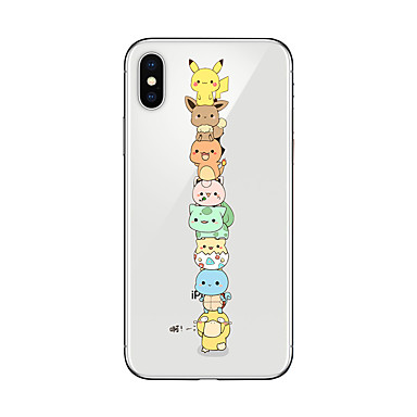 disegno Plus iPhone iPhone Apple TPU Custodia 06323180 X iPhone retro Morbido per iPhone iPhone Per Transparente 8 Per 8 animati Cartoni Fantasia X 8 8RRxq4an