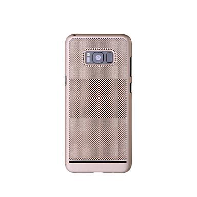 voordelige Galaxy S-serie hoesjes / covers-hoesje Voor Samsung Galaxy S8 Plus / S8 / S7 edge Ultradun Achterkant Effen Hard PC