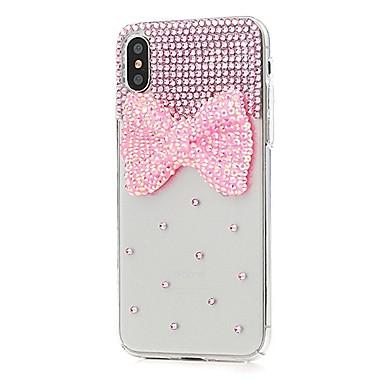 iPhone Resistente sintetica 06511604 decorativo Integrale per Apple pelle 8 X Con iPhone Per Fiore Plus Fantasia diamantini disegno Custodia x1wfCIq6C