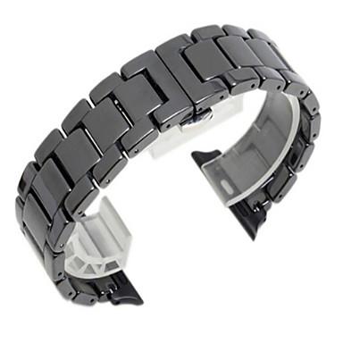 Недорогие Ремешки для Apple Watch-Ремешок для часов для Apple Watch Series 4/3/2/1 Apple Современная застежка Стали Повязка на запястье