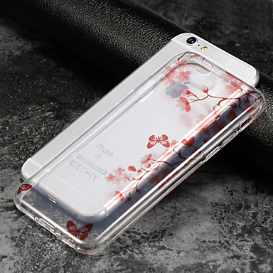 sottile 05182379 8 Per iPhone iPhone iPhone Morbido X decorativo Fiore iPhone 8 Plus Per Ultra Apple per 6 8 Transparente iPhone IMD Plus iPhone retro Custodia X TPU fqpPwx