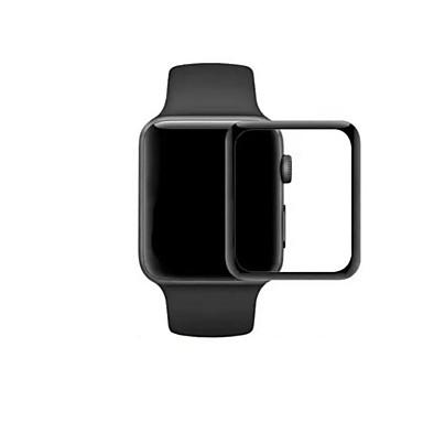 halpa Apple Watch-suojakalvot-Näytönsuojat Käyttötarkoitus iWatch 42mm / iWatch 38mm Karkaistu lasi Teräväpiirto (HD) / 9H kovuus / Räjähdyksenkestävät 1 kpl
