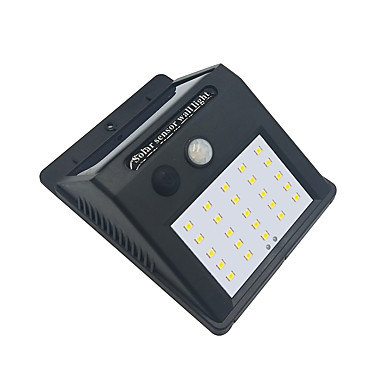 ieftine Lumini de Exterior-brelong 1 pc 4w senzor de corp uman 25w rezistent la apa inundații în aer liber lumina alba