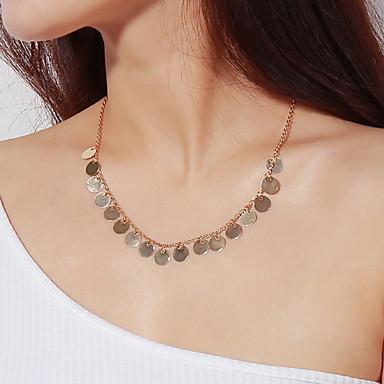 billige Mode Halskæde-Herre Dame Halskædevedhæng Rock Overdimensionerede Guld Sølv Halskæder Smykker Til Daglig Bar