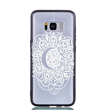 [$2.99] Case For Samsung Galaxy S8 Plus S8 Transparent Pattern Embossed Back Cover Lace Printing Hard PC for S8 Plus S8