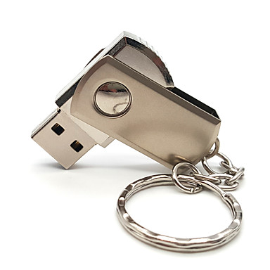 Ants 32GB דיסק און קי דיסק USB USB 2.0 מטאלי / מתכת שרשרת מפתחות / לֹא סָדִיר / LOVE מסתובב / מְעוּדָן ANTS-Rotary-32
