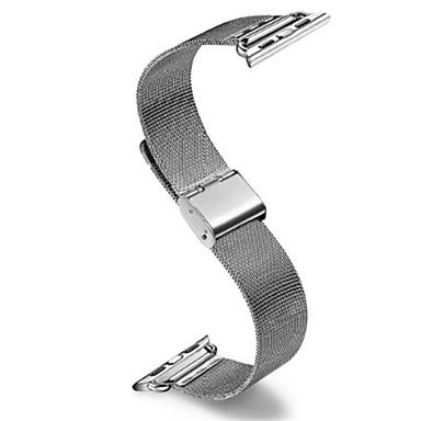 Недорогие Аксессуары для смарт-часов-Ремешок для часов для Apple Watch Series 4/3/2/1 Apple Классическая застежка Стали Повязка на запястье
