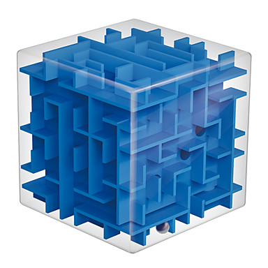 Labirint Caseta de puzzle cu labirint 3D Jucarii Mat Dreptunghiular Pătrat 3D Plastice Bucăți Unisex Cadou