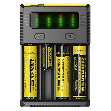 Nitecore NEW-I4 Încărcător Baterie Lanterne Accesorii Portabil Profesional Calitate superioară Plastic pentru