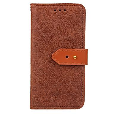 Χαμηλού Κόστους Galaxy S3 Θήκες / Καλύμματα-tok Για Samsung Galaxy S9 / S9 Plus / S8 Plus Πορτοφόλι / Θήκη καρτών / με βάση στήριξης Πλήρης Θήκη Μονόχρωμο Σκληρή PU δέρμα