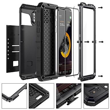 Недорогие Обжигающая экономия-чехол для яблока iphone xr xs xs макс вода / грязь / ударопрочный чехол для всего тела броня из твердого металла для iphone x 8 8 plus 7 7plus 6s 6s plus se 5 5s