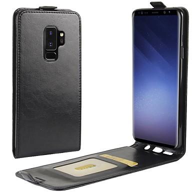 Etui Käyttötarkoitus Samsung Galaxy S9 Plus / S9 Korttikotelo / Flip Yhtenäinen Kova varten