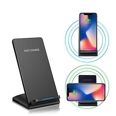 10w chargeur sans fil rapide pour iphone xs iphone xr xs max iphone 8 samsung s9 plus s8 note 8