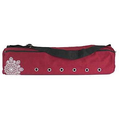 22 L 요가 매트 가방 레저 스포츠 피트니스 방수 착용 가능한 통기성 풀기 쉬운 탭 대용량 캔버스