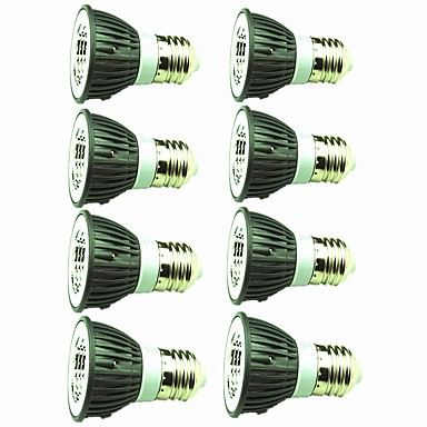 8pcs 5W 450 lm E14 E26/E27 LED reflektori 1 LED diode COB Ukrasno Toplo bijelo Hladno bijelo 220V-240V