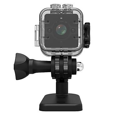 economico Telecamere IP-veskys® 1080p sq12 mini dv registratore videocamera azione sport esterno dv / 30 m impermeabile micro camcorder shell / 155wide angolo / visione notturna