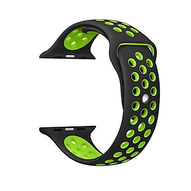 Horlogeband voor Apple Watch Series 4/3/2/1 Apple Sportband Silicone Polsband