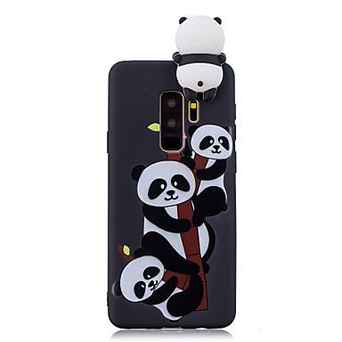 levne Galaxy S6 Pouzdra a obaly-Carcasă Pro Samsung Galaxy S9 / S9 Plus / S8 Plus Nárazuvzdorné / Vzor / Udělej si sám Zadní kryt Komiks / 3D  komiks / Panda Měkké TPU
