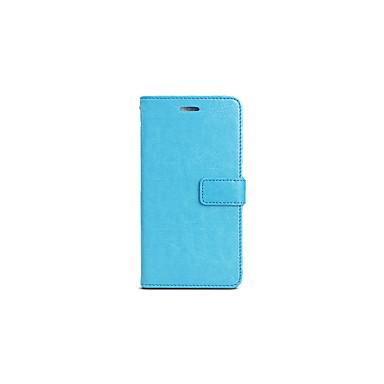 Custodia Per Samsung Galaxy S7 edge / S7 A portafoglio / Con chiusura magnetica Integrale Tinta unica Resistente pelle sintetica per S7 edge / S7 / S6 edge plus