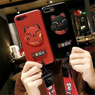 Fantasia Apple per sintetica iPhone Per pelle iPhone disegno Plus Resistente 6 7 iPhone Plus 06583390 Per Plus 8 retro Gatto Custodia 8 iPhone 5w8qaa