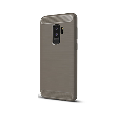 voordelige Galaxy S-serie hoesjes / covers-hoesje Voor Samsung Galaxy S9 Plus Ultradun Achterkant Effen Kleur Zacht Siliconen
