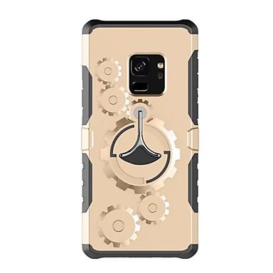 voordelige Galaxy S-serie hoesjes / covers-hoesje Voor Samsung Galaxy S9 / S9 Plus / S8 Plus met standaard Armband Effen Hard Muovi