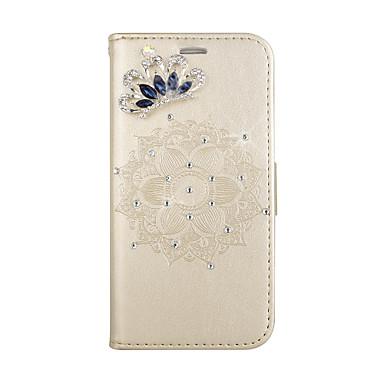 voordelige Galaxy A-serie hoesjes / covers-hoesje Voor Samsung Galaxy A5(2018) / Galaxy A7(2018) / A8 2018 Kaarthouder / met standaard / Flip Volledig hoesje Mandala Hard PU-nahka
