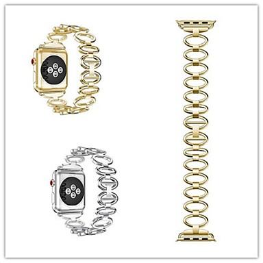 시계 밴드 용 Apple Watch Series 3 / 2 / 1 Apple 스포츠 밴드 스테인레스 스틸 손목 스트랩