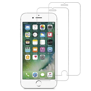 voordelige iPhone 7 screenprotectors-AppleScreen ProtectoriPhone 7 High-Definition (HD) Voorkant screenprotector 2 pcts Gehard Glas