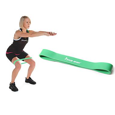 KYLINSPORT Fitness-Dehnbänder Mit 1 pcs Gummi Sportliches Training Krafttraining, Klimmzug, Physiotherapie, Kraftdreikampf Zum Yoga / Pilates / Fitness Heim / B¨¹ro