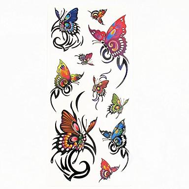 1 pcs Tattoo Stickers Temporary Tattoos Animal Series Waterproof Body Arts Body / Arm / Shoulder