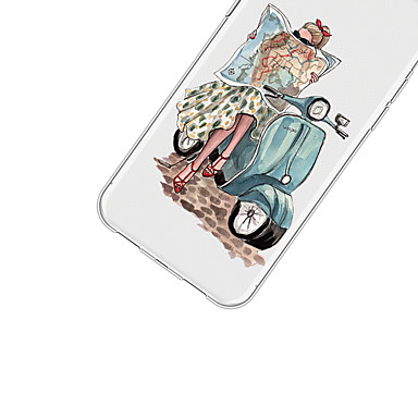Sexy Per retro Plus Morbido Plus iPhone 06639399 Custodia X iPhone Fantasia per iPhone disegno Apple TPU 8 animati iPhone X Per Cartoni iPhone 8 YvzYqwP