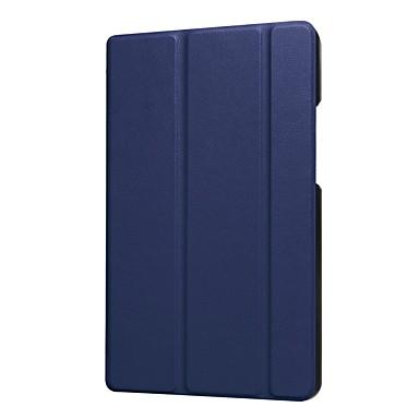 economico Custodie per tablet-Custodia Per Huawei MediaPad MediaPad T3 8.0 Con supporto Integrale Tinta unita Resistente pelle sintetica per Huawei MediaPad T3 8.0