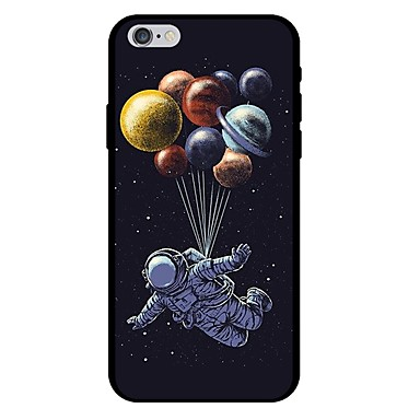 voordelige iPhone 5 hoesjes-hoesje Voor Apple iPhone X / iPhone 8 Plus / iPhone 8 Patroon Achterkant Cartoon / Balloon Zacht TPU