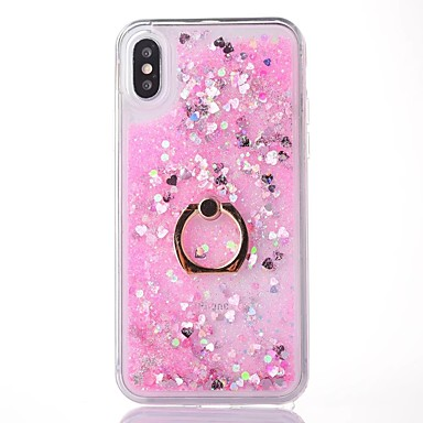 ad 8 iPhone retro 8 Glitterato a X per Apple X Plus Custodia Liquido Per Supporto Resistente cascata iPhone PC anello Per iPhone iPhone 06643614 vXwO1x